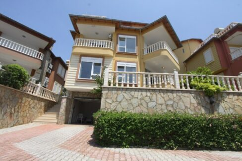 Private Villa For Sale In Alanya Demirtas
