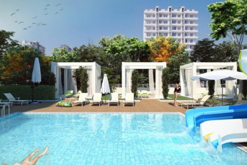Property Apartments Project For Sale In Alanya Avsallar