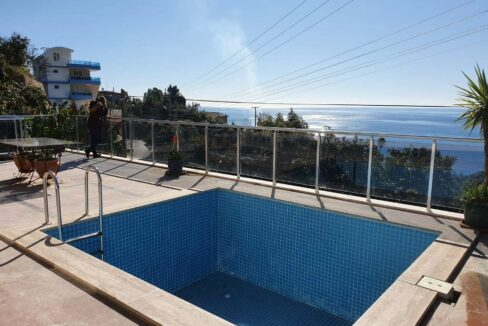 Sea View Private Villa Home For Sale In Dinek Alanya