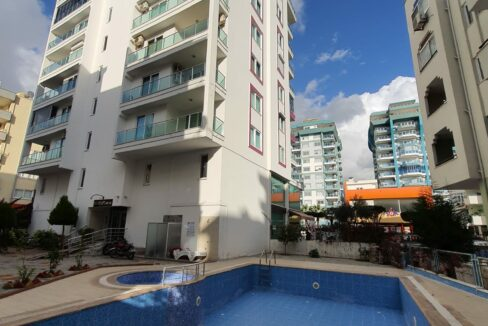 2 Rooms Fully Furnished Apartment With Seaview In Mahmutlar