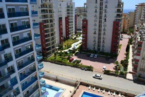 2 Rooms Fully Furnished Residential Apartment In Mahmutlar Center