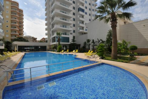 3 Room Apartment With Luxurious Furniture In Mahmutlar