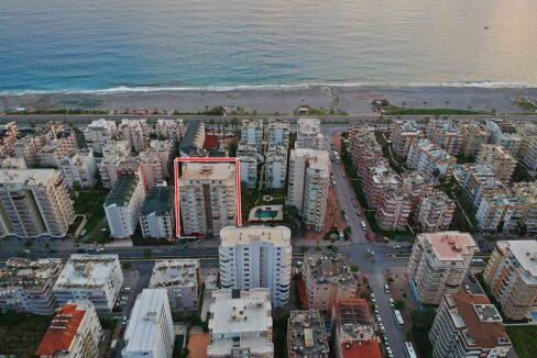 3 Room Brand New Furnished Apartment Close To Beach