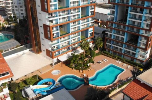 3 Room Furnished Apartment With Seaview In Cikcilli