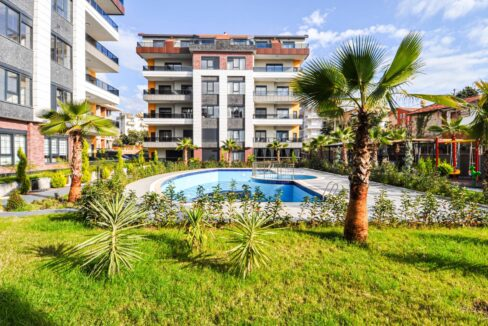 3 Rooms Apartment Situated In A New Residence In Oba