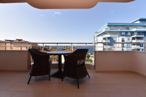 3 Rooms Luxurious Apartment With Seaview In Mahmutlar