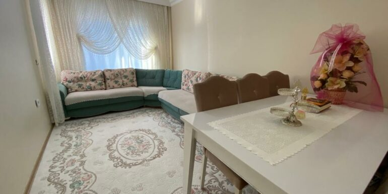 4 Rooms Furnished Apartment Located In Mahmutlar Center