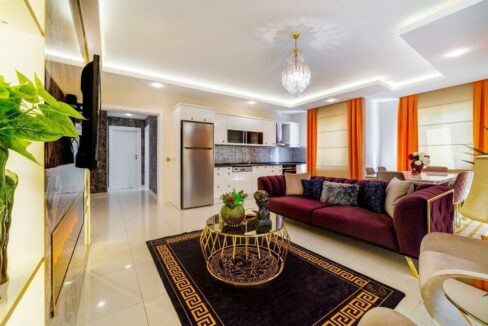 4 Rooms Luxurious Furnished Apartment In Mahmutlar