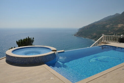 6 Room Fully Furnished Villa With Infinity Pool In Gazipasa