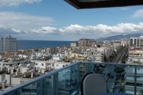 7 Rooms Furnished Duplex Apartment With Sea And Castle View