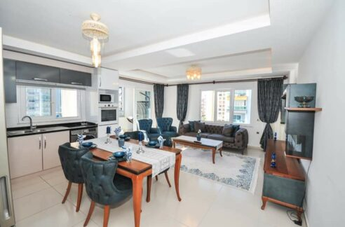 Exclusive 3 Rooms Apartment With Seaview In Kargıcak