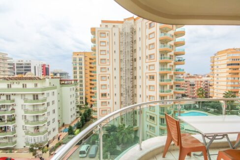 Furnished 3 Room Apartment Situated In A Good Complex