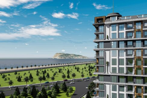 Great Investment Opportunity In Beachfront Project In Oba