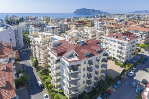 2 Bedroom Furnished Apartment For Sale In Alanya Oba