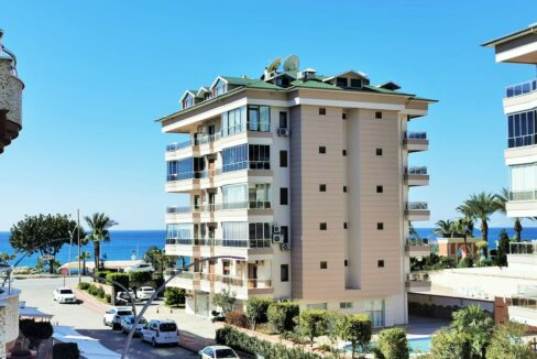 2 Bedroom Furnished Apartment With Seaview In Alanya Centrum
