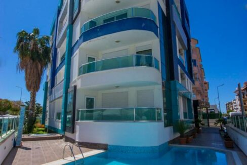 2 Room Apartment For Sale In Alanya Oba Very Close To Beach