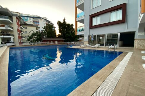 2 Room Apartment In Tosmur With Luxurious Furniture