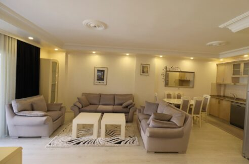 2 Room Furnished Apartment For Sale In Tosmur Alanya