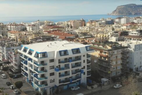 2 Room Residential Apartment With Brand New Furniture In Alanya Oba