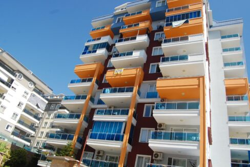 3 Bedroom Duplex Apartment In Alanya Tosmur With Sea And Castle View