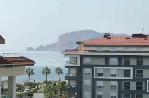 3 Bedroom Furnished Duplex Apartment With Seaview In Alanya Kestel