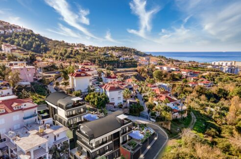 6 Room Exclusive Villa Project Eligible For Turkish Citizenship