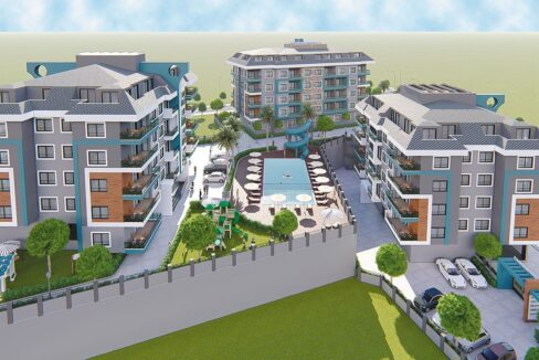 My City 4 Residence Oba Ongoing Project In Alanya To Be Finished Within 3 Months
