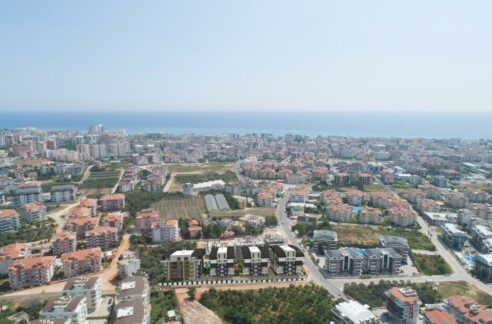 New Ongoing Exclusive Project In Alanya Oba Starting Price 109000 Euro