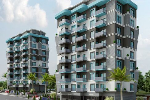New Residence Project With Installment In Avsallar Starting Price 50.000 Euros