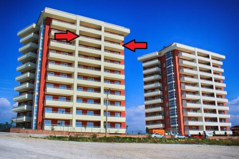 2 Bedroom Cheap Apartments Next To Each Other For Sale In Alanya Payallar