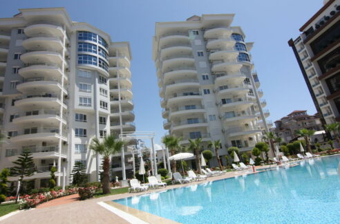 2 Bedroom Fully Furnished Apartment For Sale In Alanya