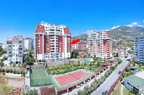 2 Bedroom Furnished Flat For Sale In Alanya Cikcilli With All In Facilities