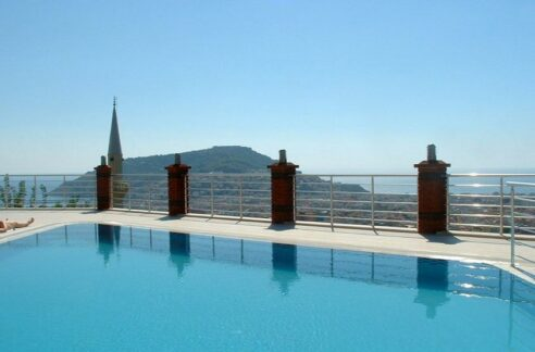 2 Bedroom Furnished Flat For Sale In Alanya With Amazing View