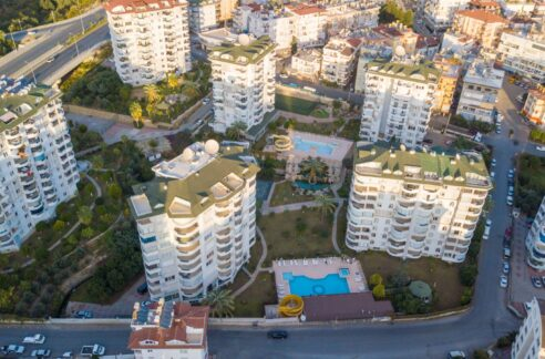 2 Bedroom Furnished Flat For Sale In Alanya