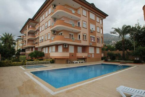 2 Bedroom Furnished Spacious Apartment For Sale In Alanya