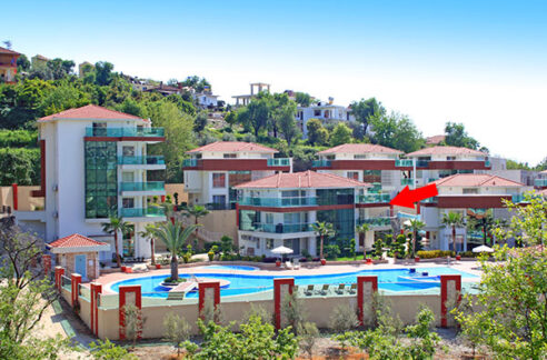 3 Bedroom Furnished Exclusive Penthouse Apartment For Sale In Alanya Turkey