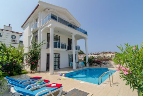 3 Bedroom Private Villa For Rent In Fethiye Ölüdeniz