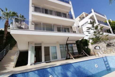 3 Bedroom Villa With Swimming Pool For Sale In Alanya