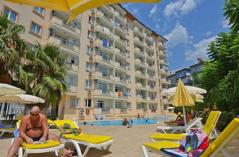 Alanya City Apartment For Sale With Furniture