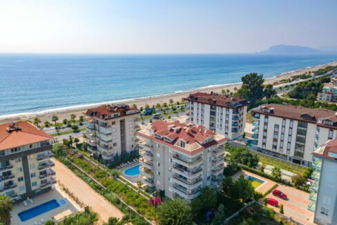 Cheap Coastal Property For Sale In Alanya Kestel With Sea View