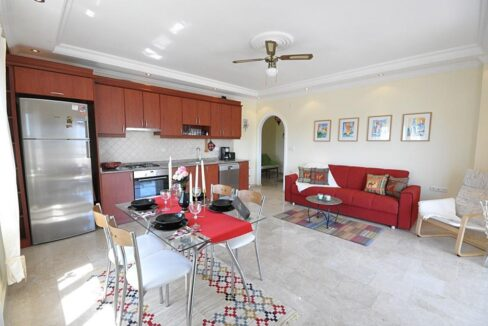 Cheap Furnished 2 Bedroom Apartment For Sale In Alanya Cikcilli