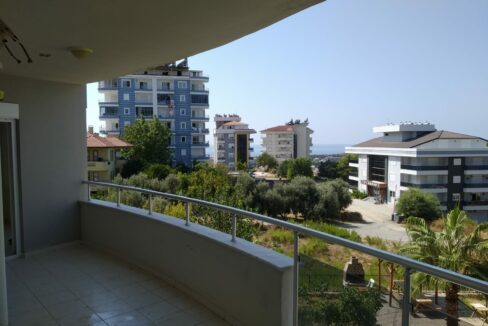 Cheapest 2 Bedroom Apartment With Sea View In Alanya Avsallar