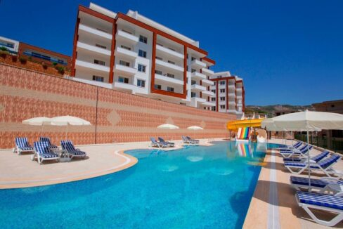 Duplex Apartment For Sale In Alanya With Seaview