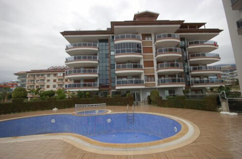 Duplex Apartment With Seaview For Sale In Alanya