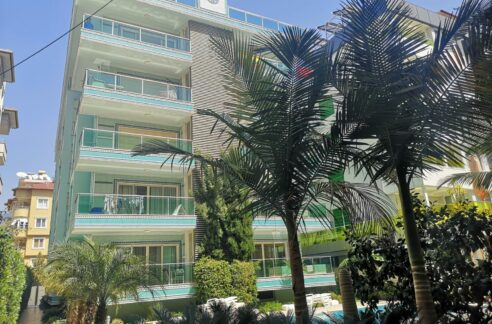 Duplex For Sale In Alanya Only 50 Mt To Cleopatra Beach