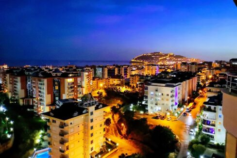 Elite Furnished Duplex Apartment With Seaview