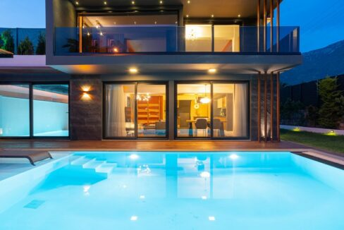 Exclusive Villa With Indoor&outdoor Pool,sauna And Jacuzzi In Fethiye For Rent