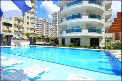 Furnished 2 Bedroom Apartment For Sale In Alanya