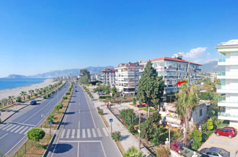 Furnished 2 Bedroom Property For Sale In Alanya Kestel With Seaview