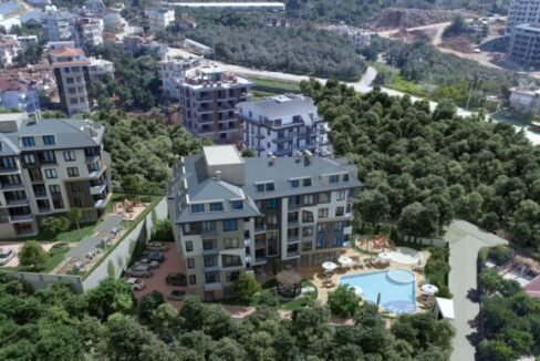 New Apartments For Sale In Alanya Oba
